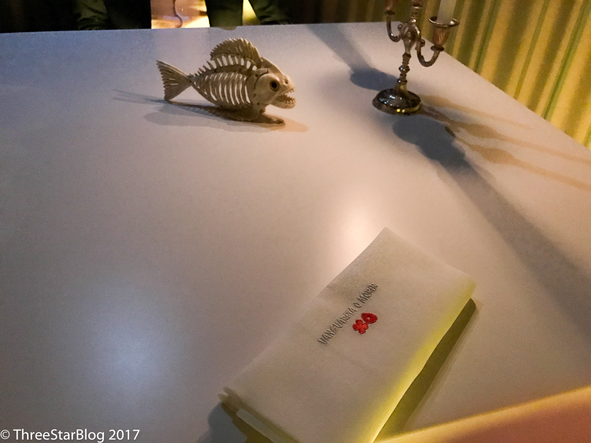 Table Setting- Complete with Fishbones