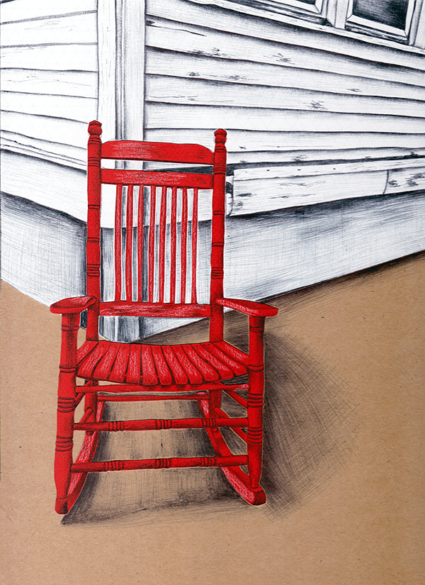 Chair Illustration by Jennifer Johansson