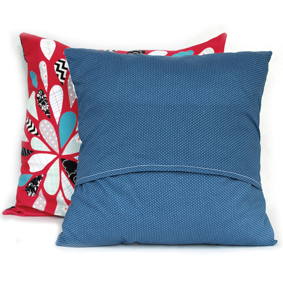 Envelope Style Pillow Back