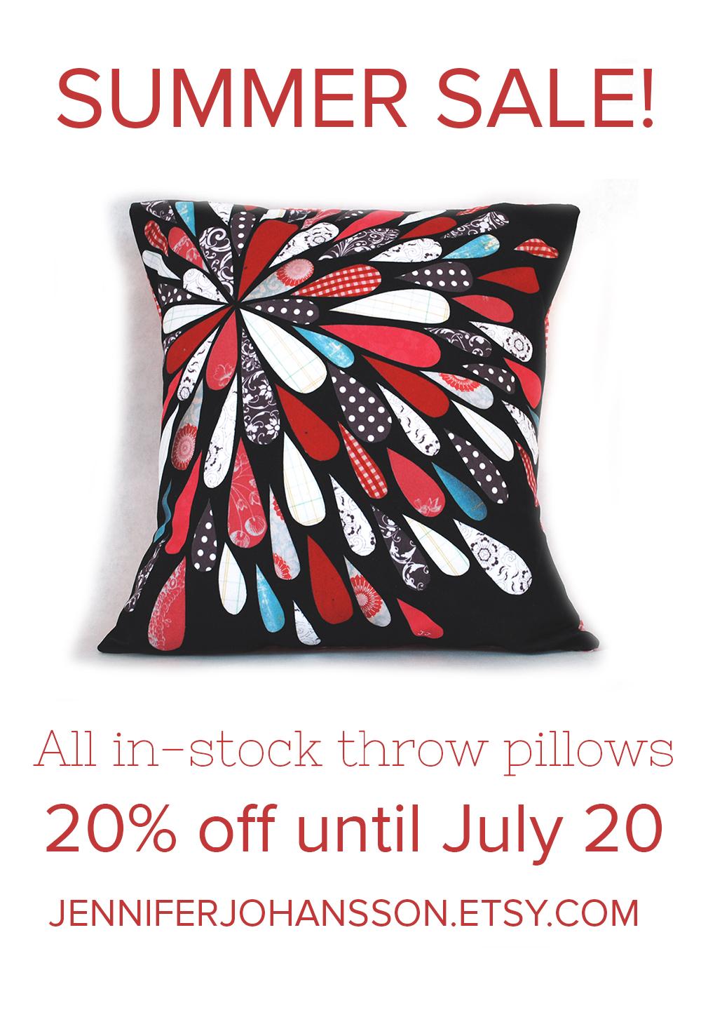 Summer Sale On Pillows