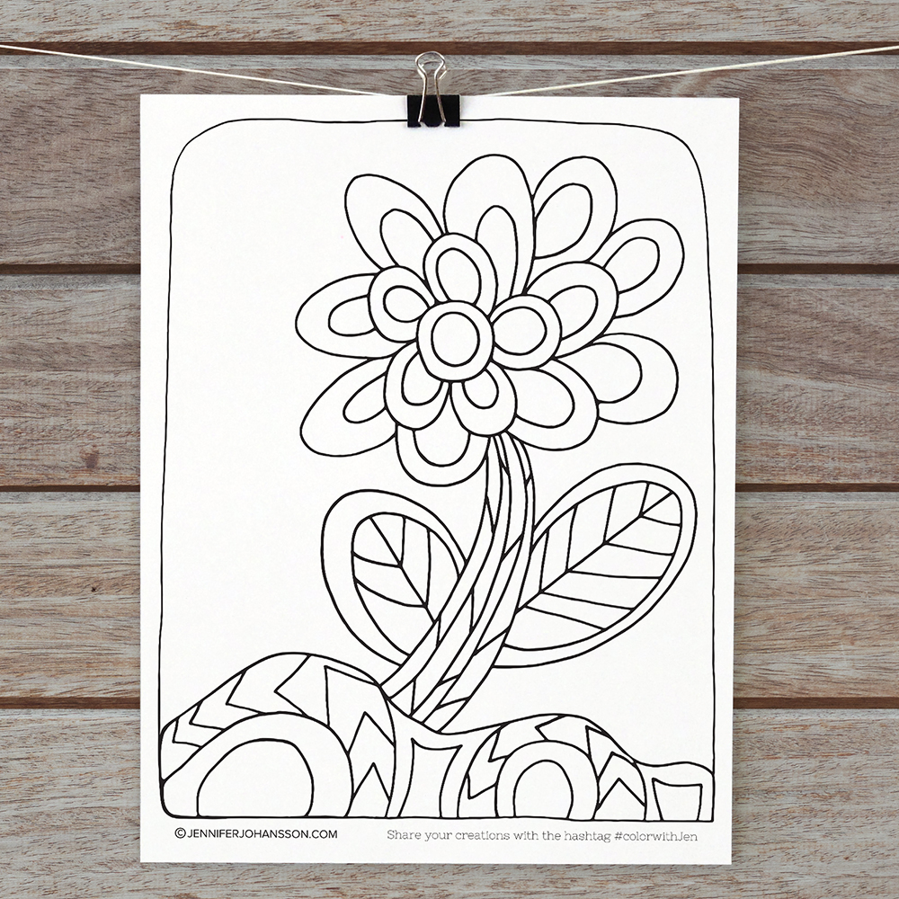 Click the photo to join my email list and download this coloring page!