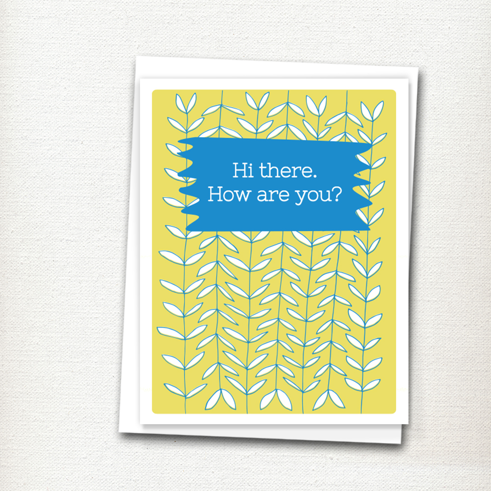 Anytime Greeting Card by Jennifer Johansson. Click to purchase!