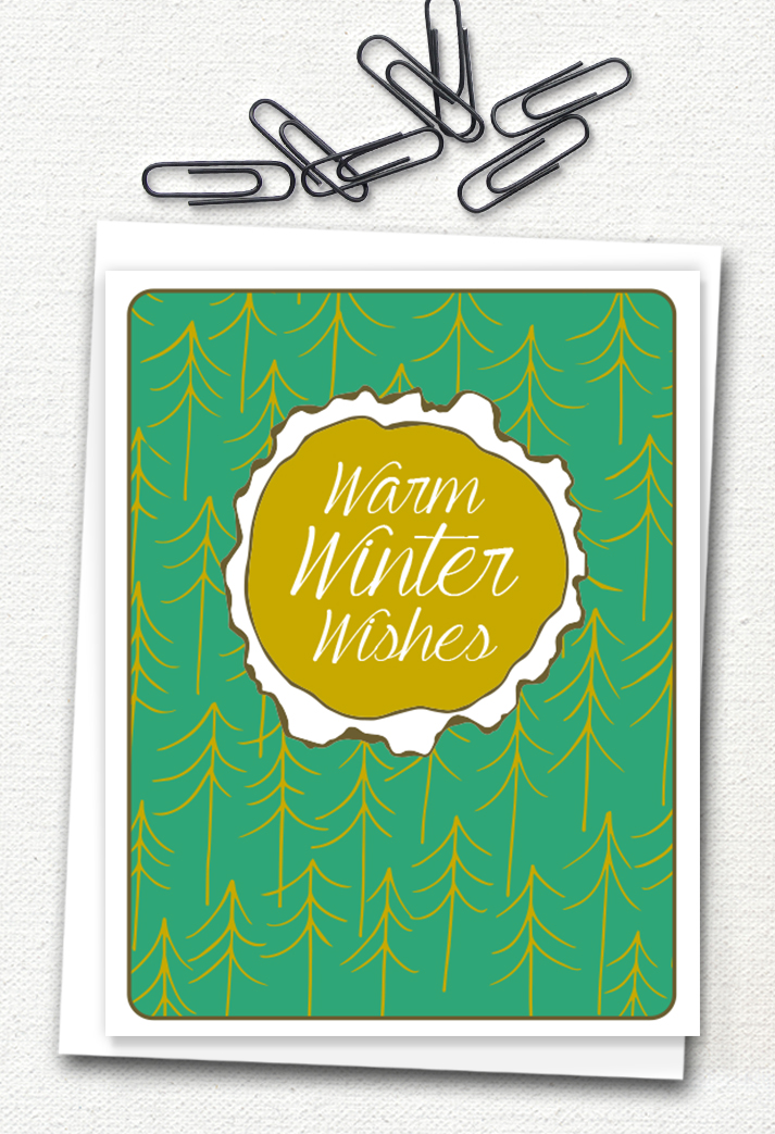 My newest holiday greeting card is now available! Click to purchase.