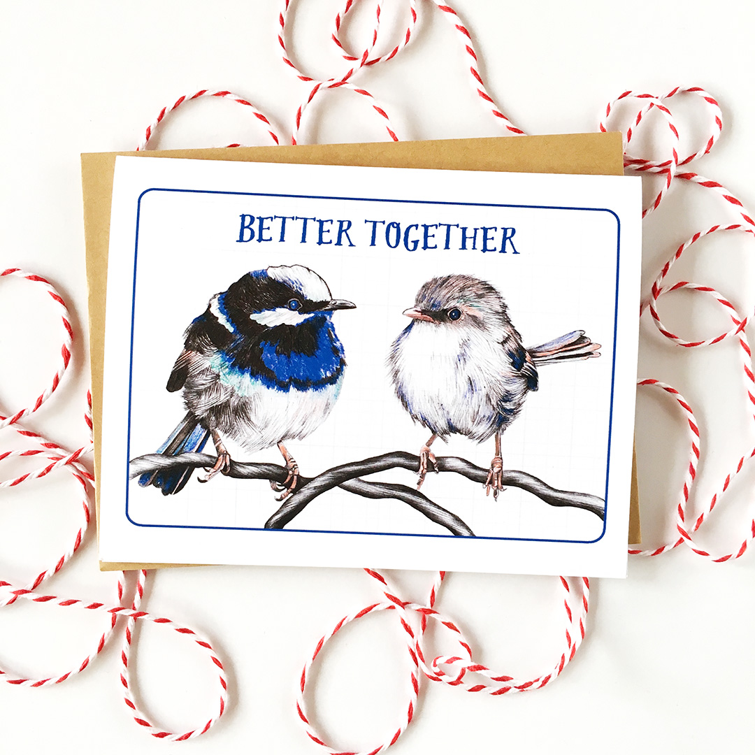 "The ""Better Together"" card has a been a top seller for years. Click through to purchase."