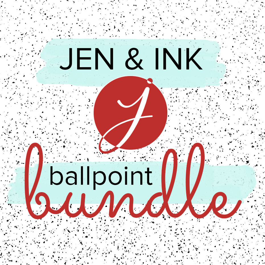 Buy both Jen & Ink E-Courses at once and save $18! Click thru to purchase.