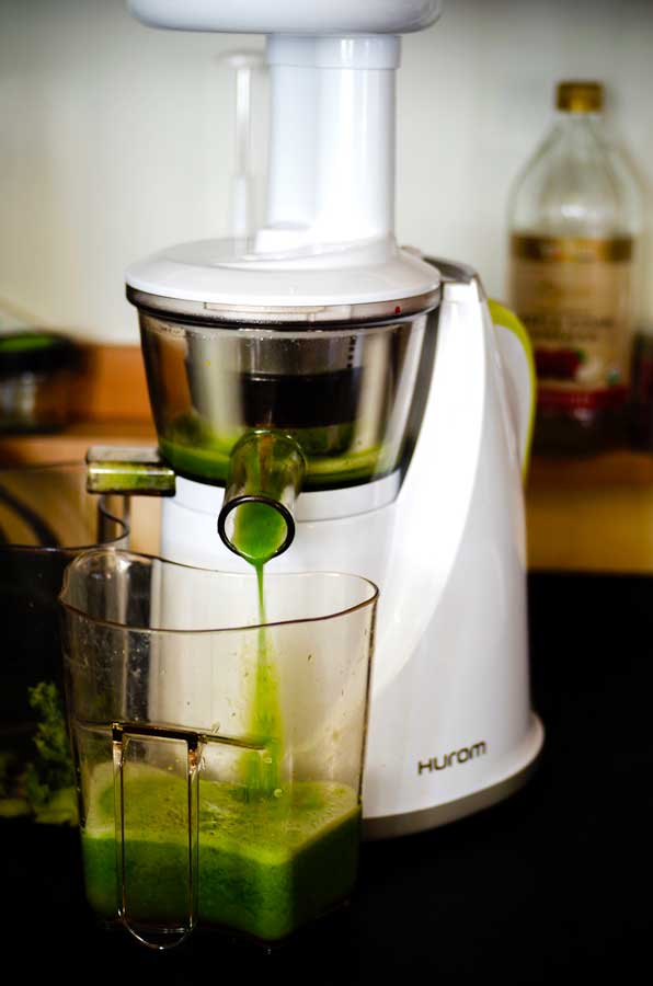Juicer doin it's thing.