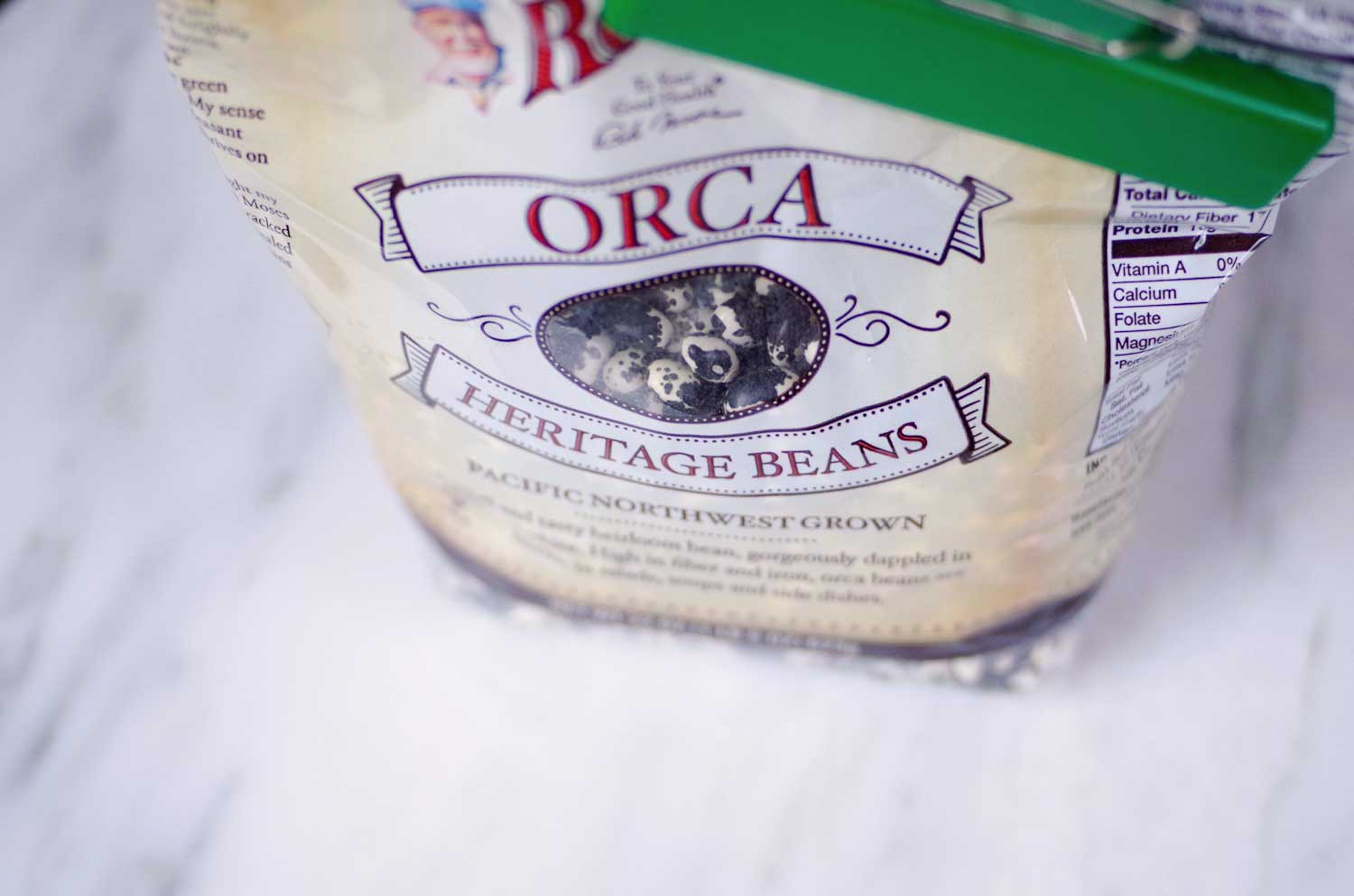 Bob's Red Mill Orca Heritage Beans, GMO Free