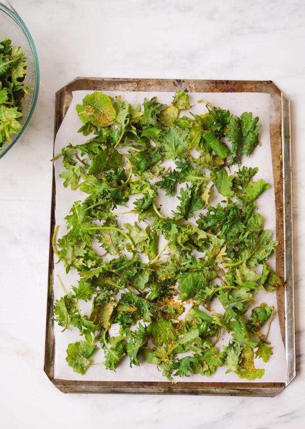 kale-chips-on-baking-sheet