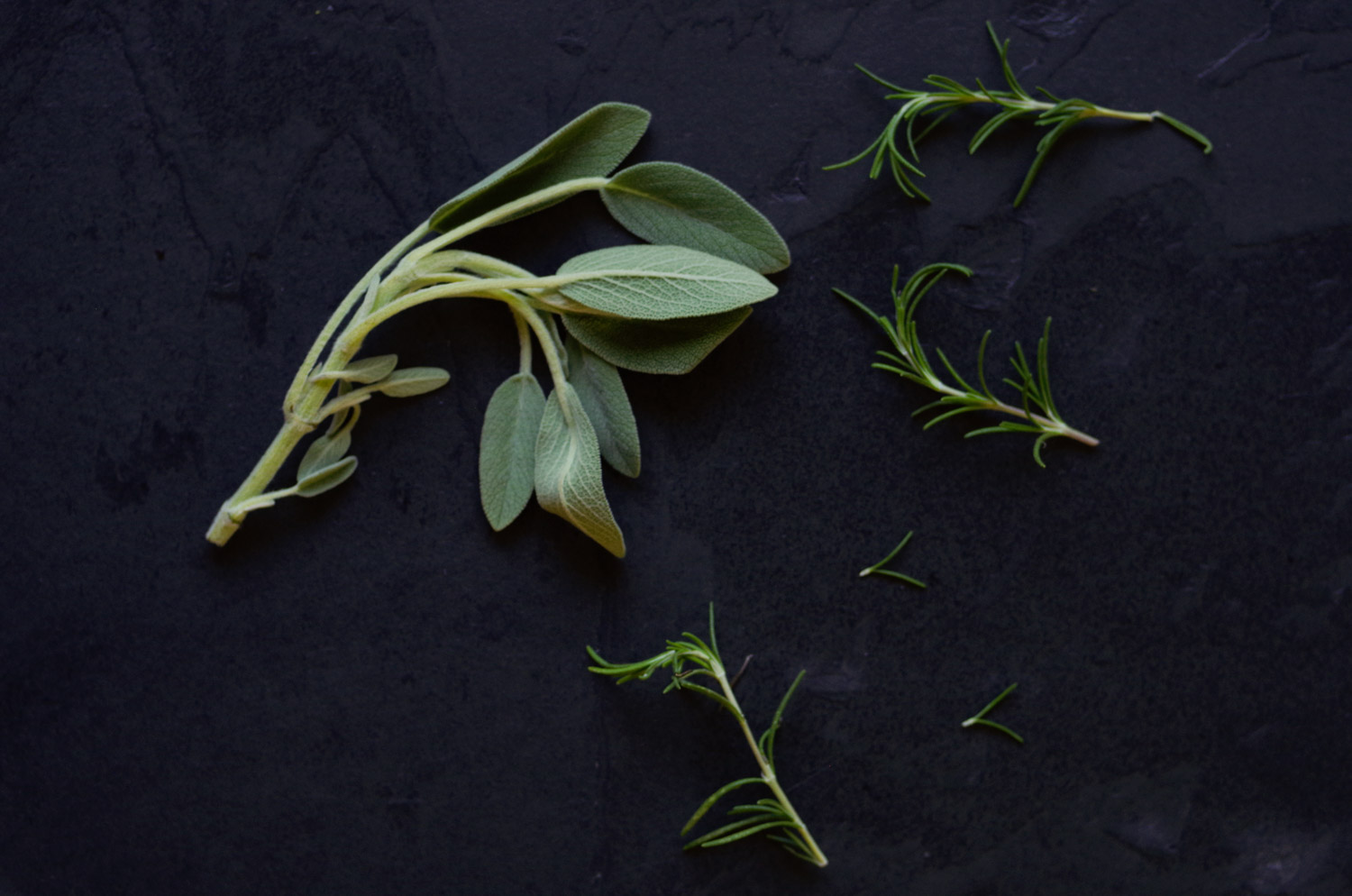 Sage and rosemary, flavor powerhouses that save the day at Thanksgiving.