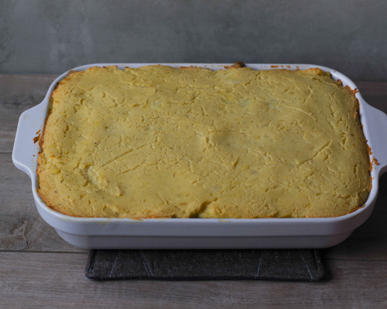 Fresh out of the oven: Vegan Thanksgiving in a Shepherdless Pie, by Beautiful Ingredient.