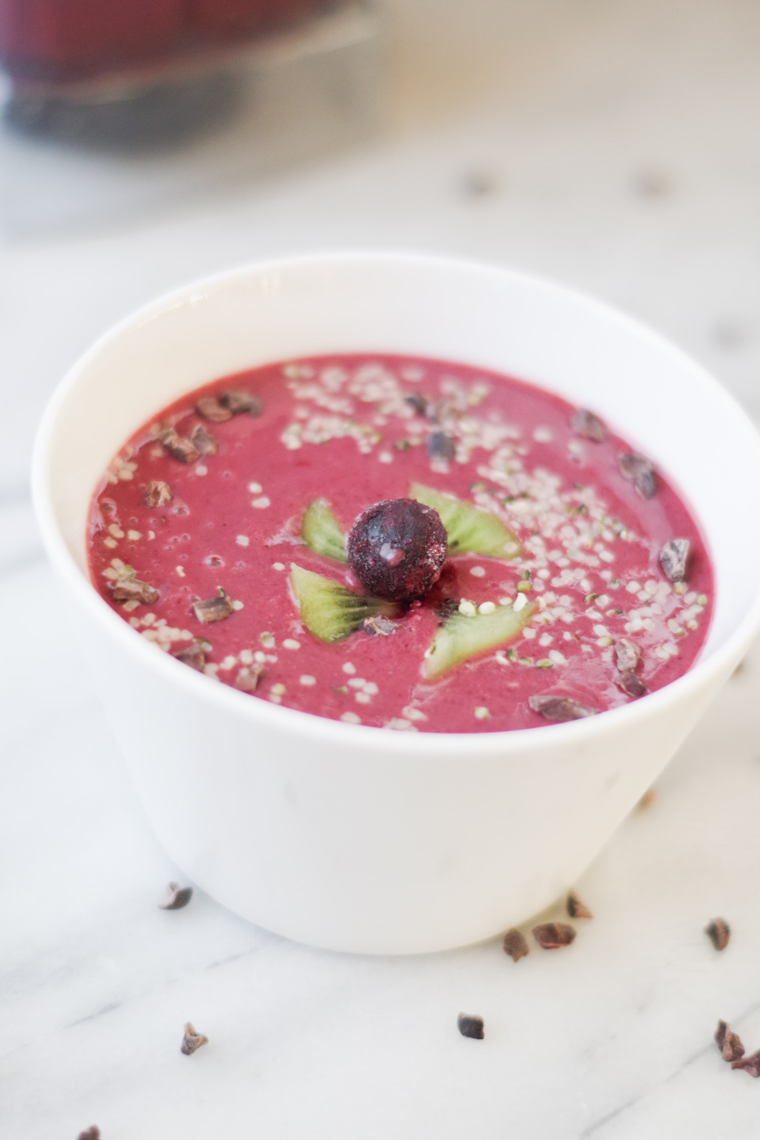 very berry smoothie bowl  by beautiful ingredient
