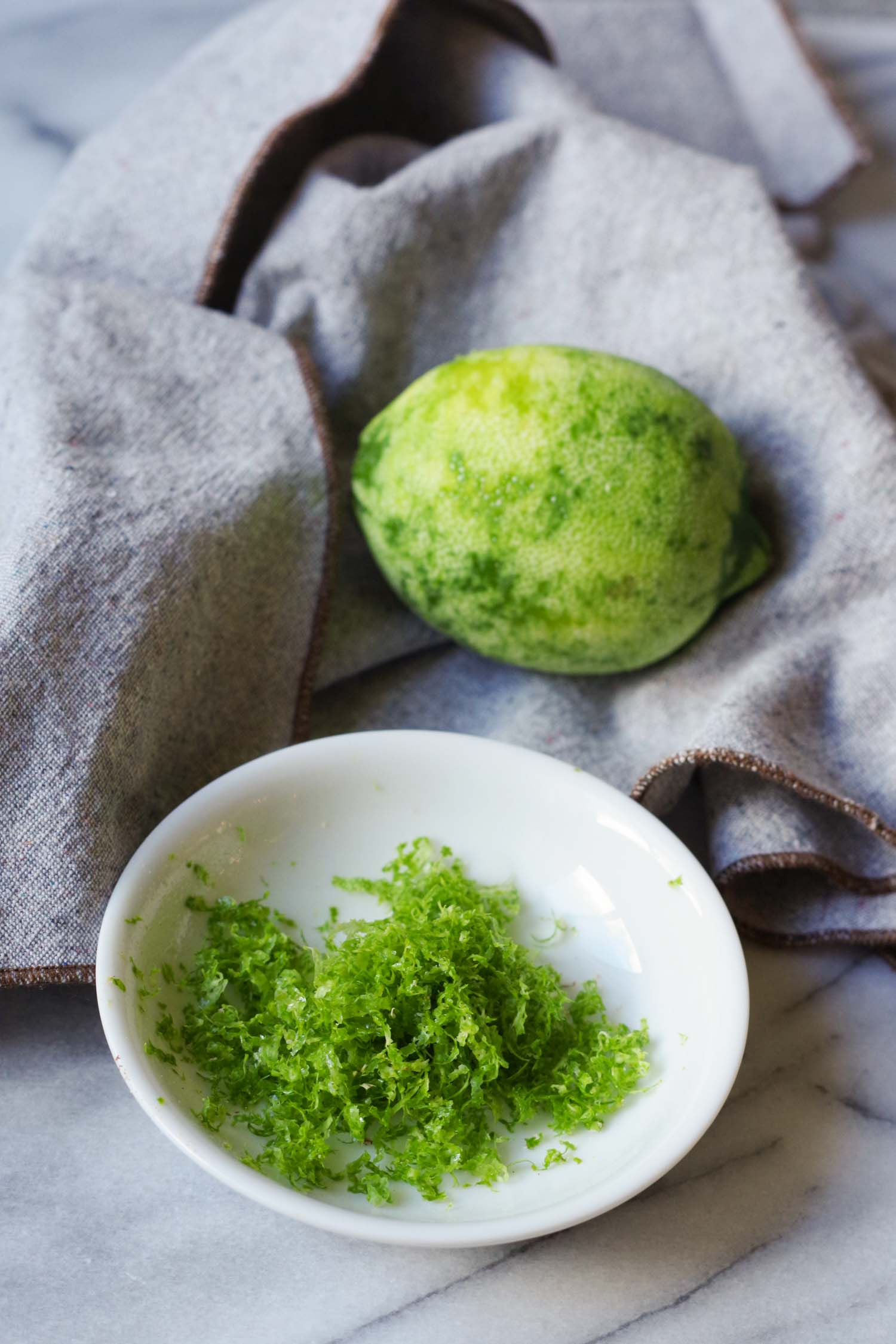 Lime Zest for Golden Banana Oatmeal, by Beautiful Ingredient