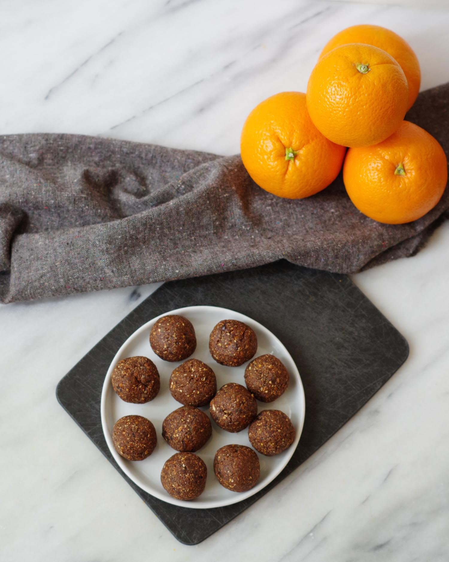 Vegan Chocolate Orange Energy Bites by Beautiful Ingredient