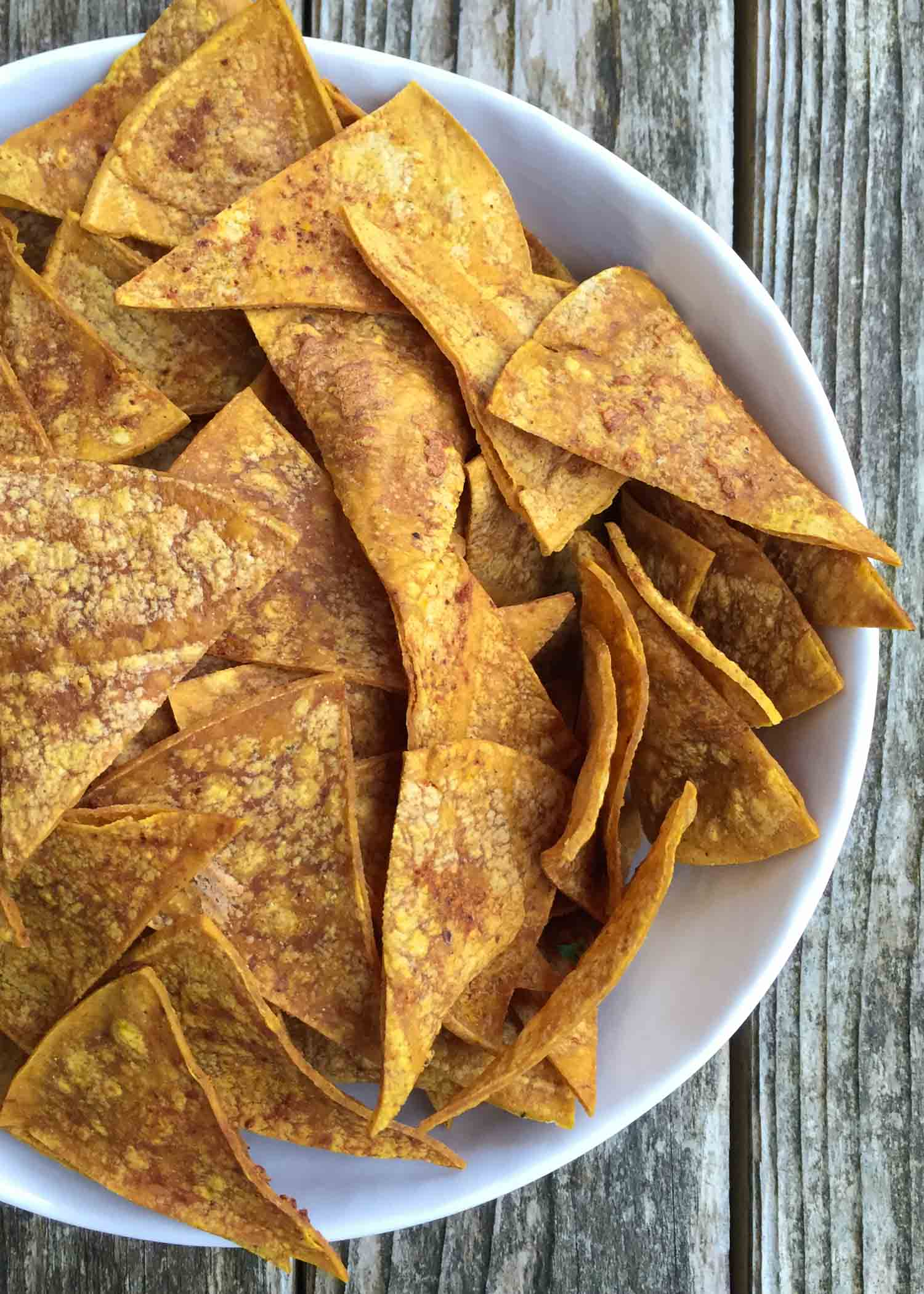 Homemade Baked Tortilla Chips. By Beautiful Ingredient