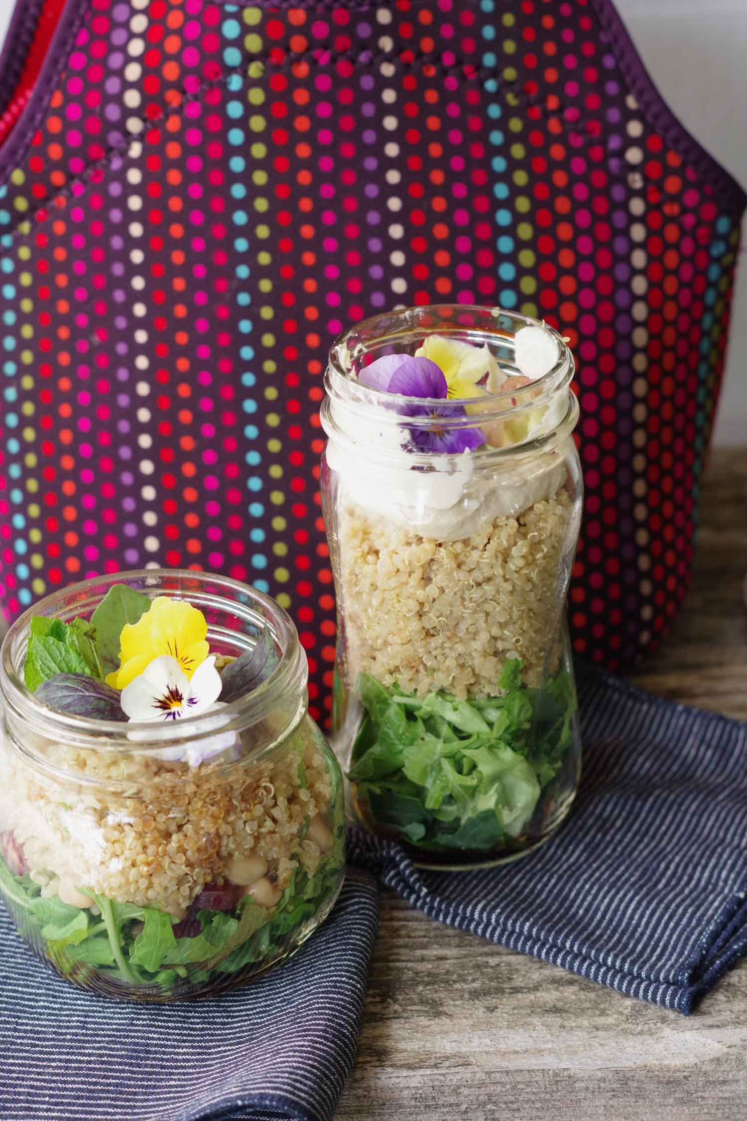 Easy Salad to Go for a Picnic or Packed Lunch by Beautiful Ingredient
