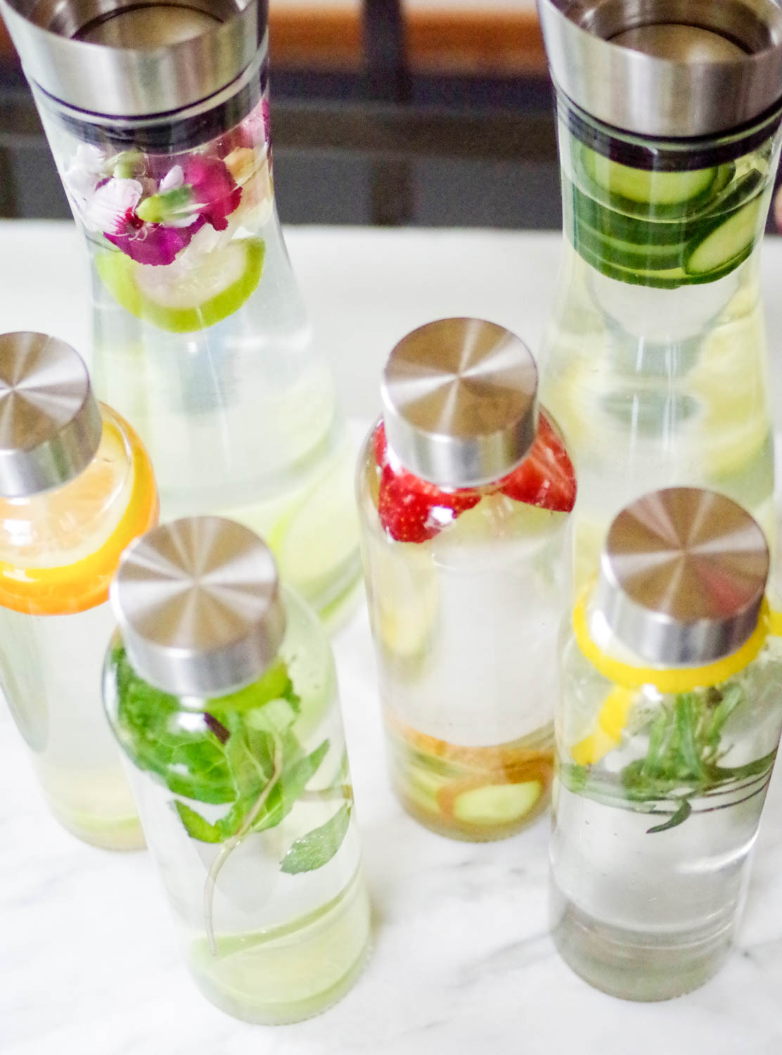 Six Easy Infused Waters, by Beautiful Ingredient