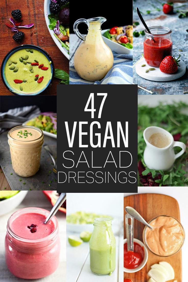 47 Vegan Salad Dressing Recipes