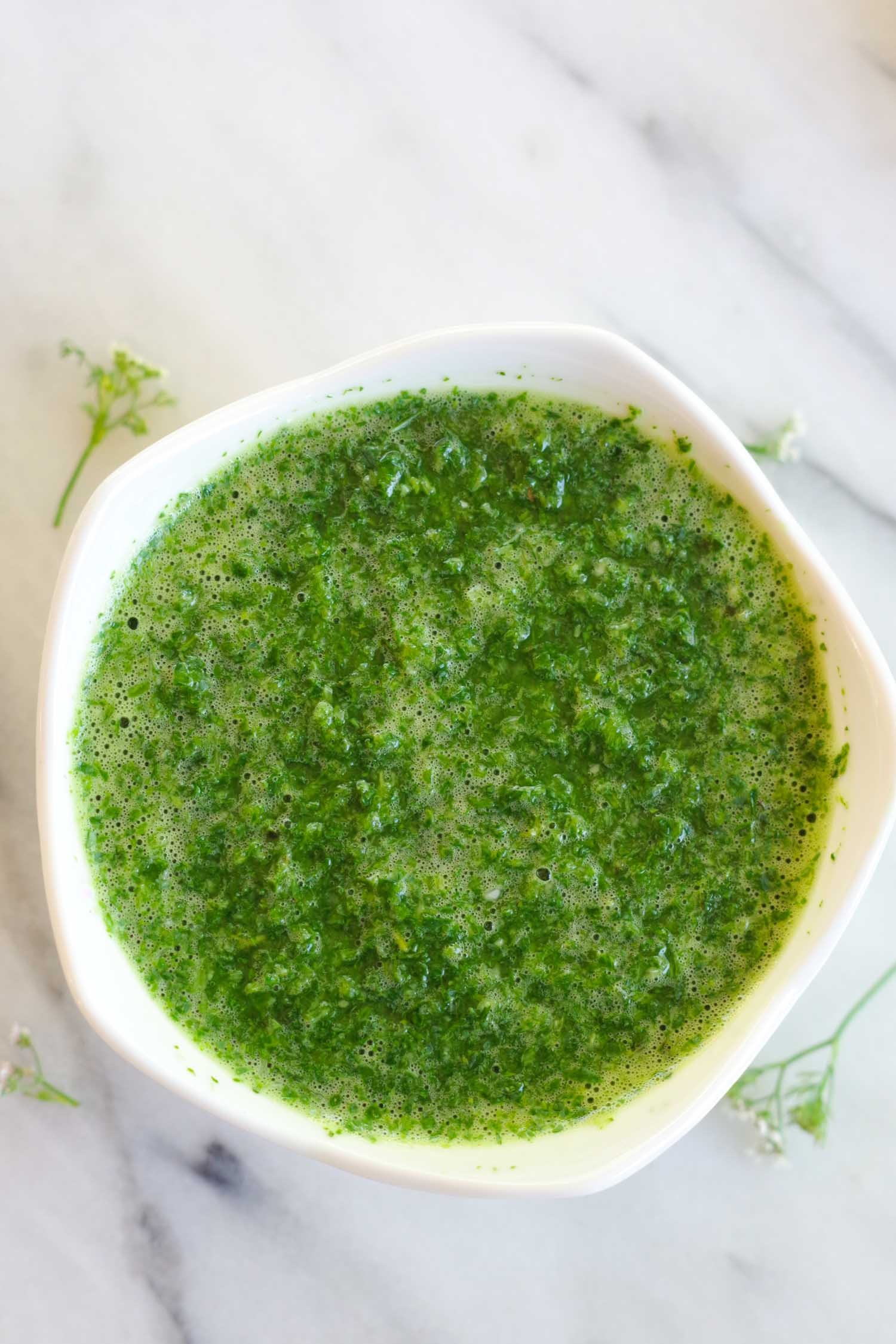 Chimichurri-ish, by Beautiful Ingredient