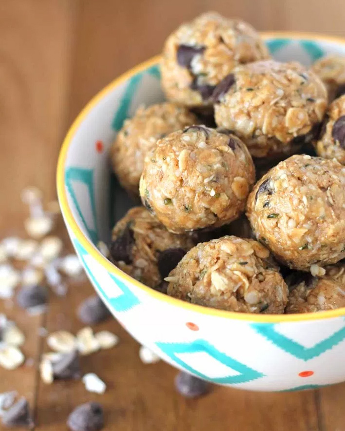 No Bake Vegan Peanut Butter Chocolate Coconut Bites, by Delightful Adventures