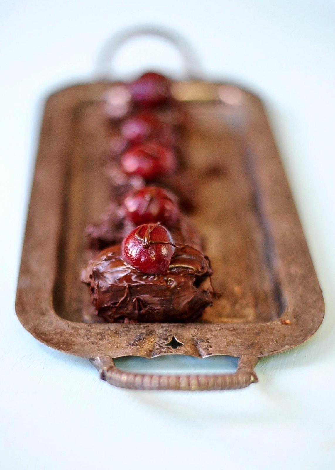 Vegan Healthy Black Forest Bon Bons, by Sunnyside Hanne