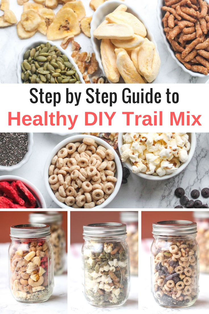 Step by Step Guide to Healthy Vegan DIY Trail Mix, by Food Pleasure & Health