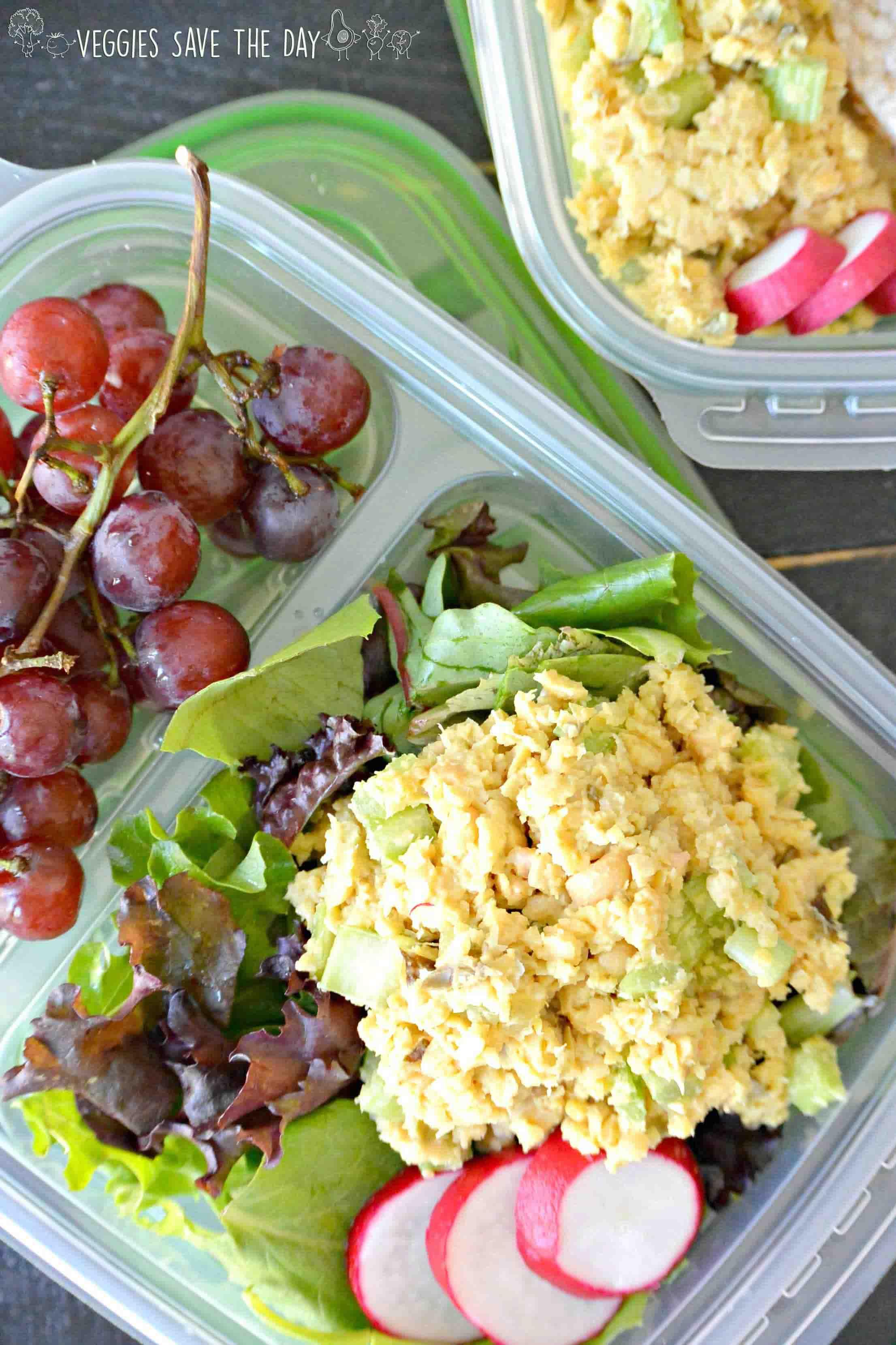 Vegan Tuna Salad, by Veggies Save the Day