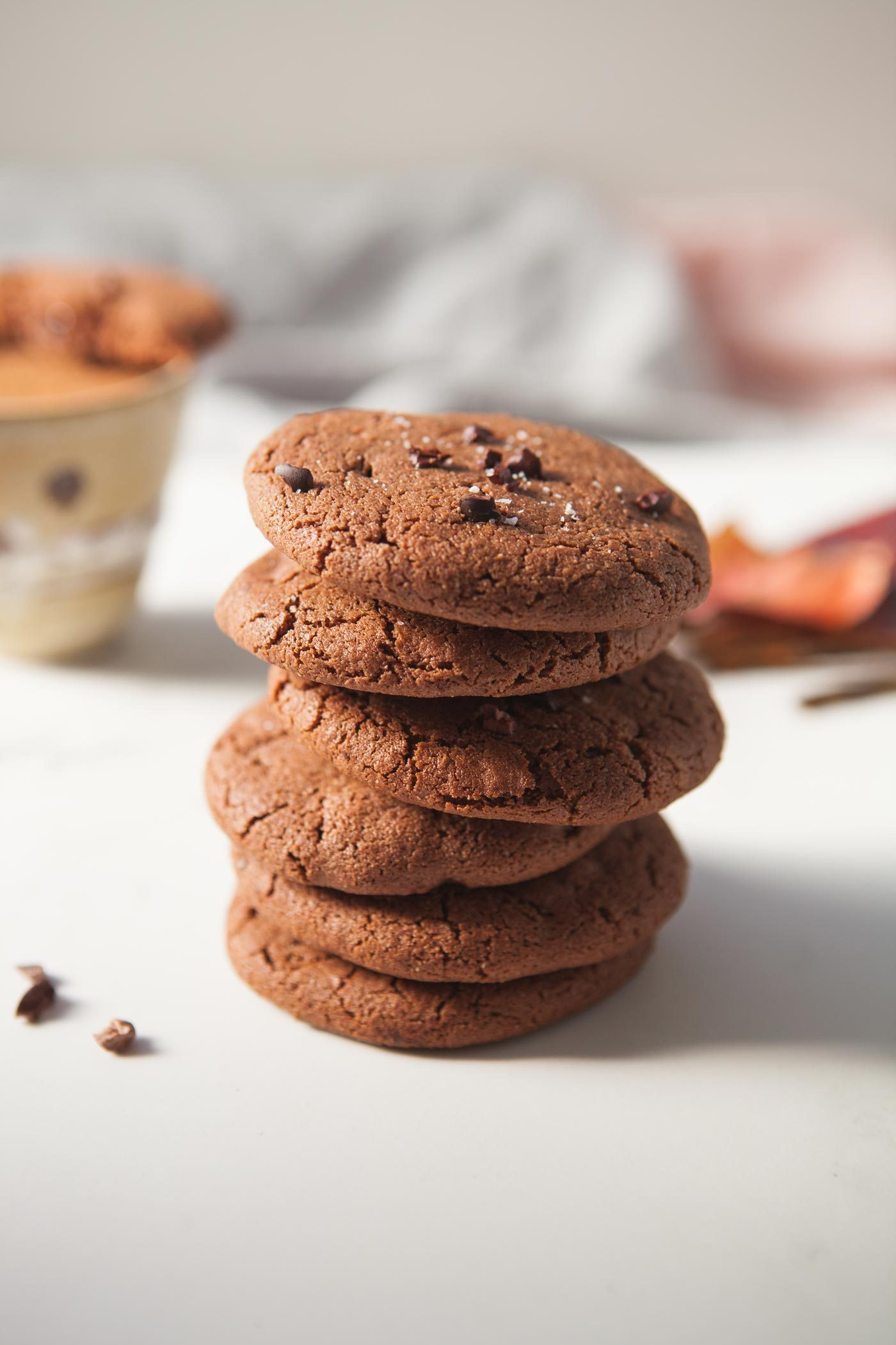 Vegan & gluten-Free Mexican Hot Chocolate Cookies by Lauren of Ascension Kitchen