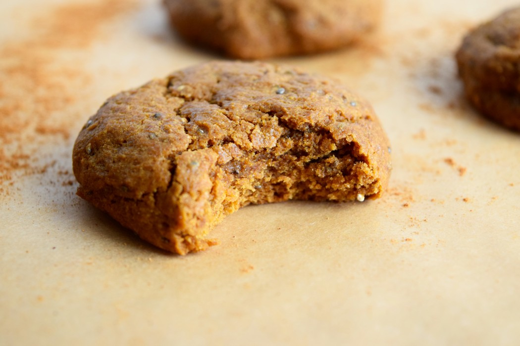 Vegan Ginger Molasses Cookies by Nicole of Earth Powered Family