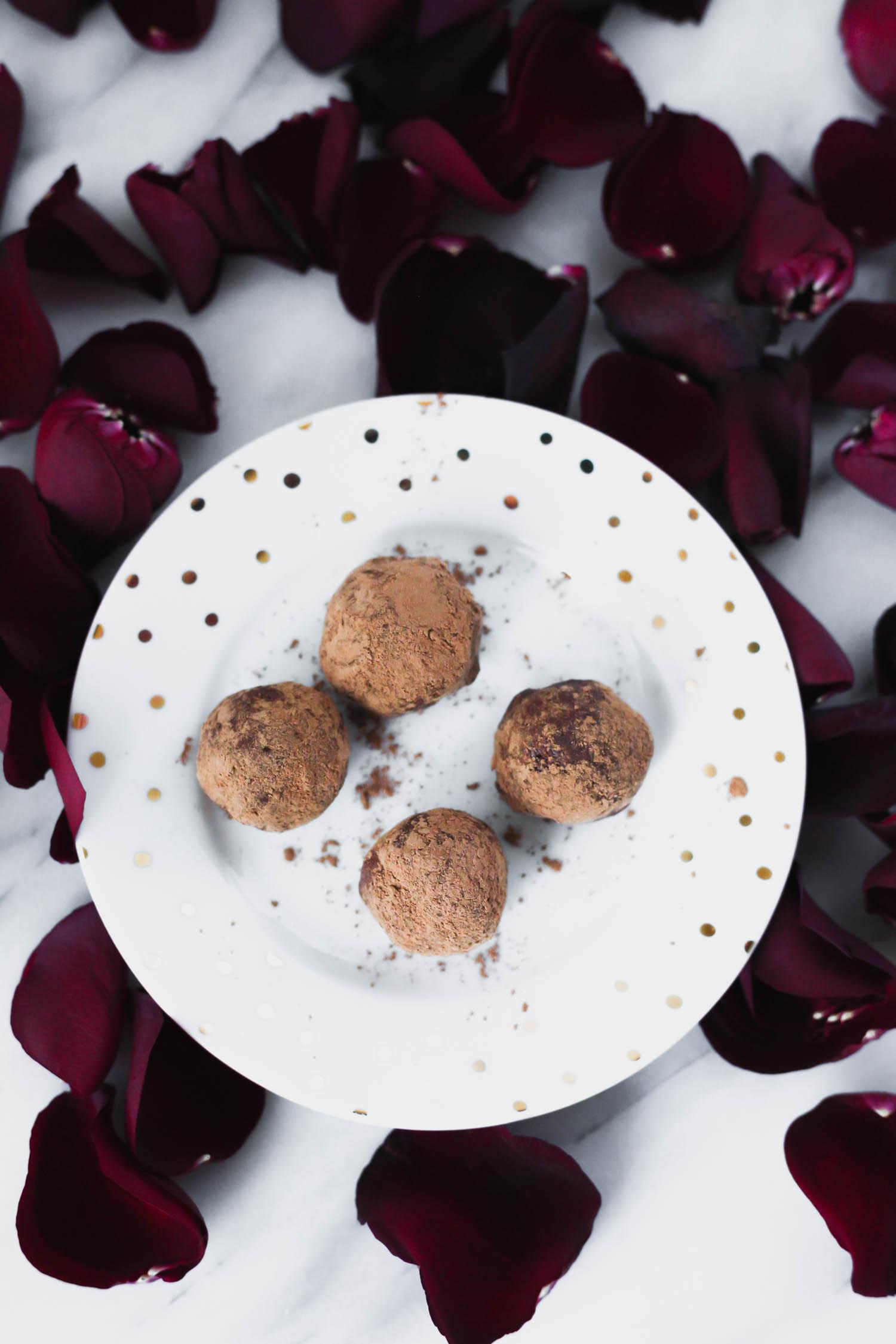 Chocolate Macadamia Truffles, Vegan Recipe by Beautiful Ingredient
