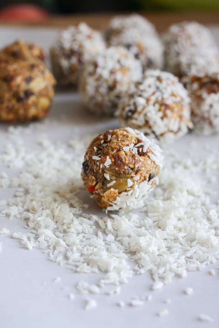 Raw Superfood Balls & Bars, GF Vegan | Veggies Don't Bite