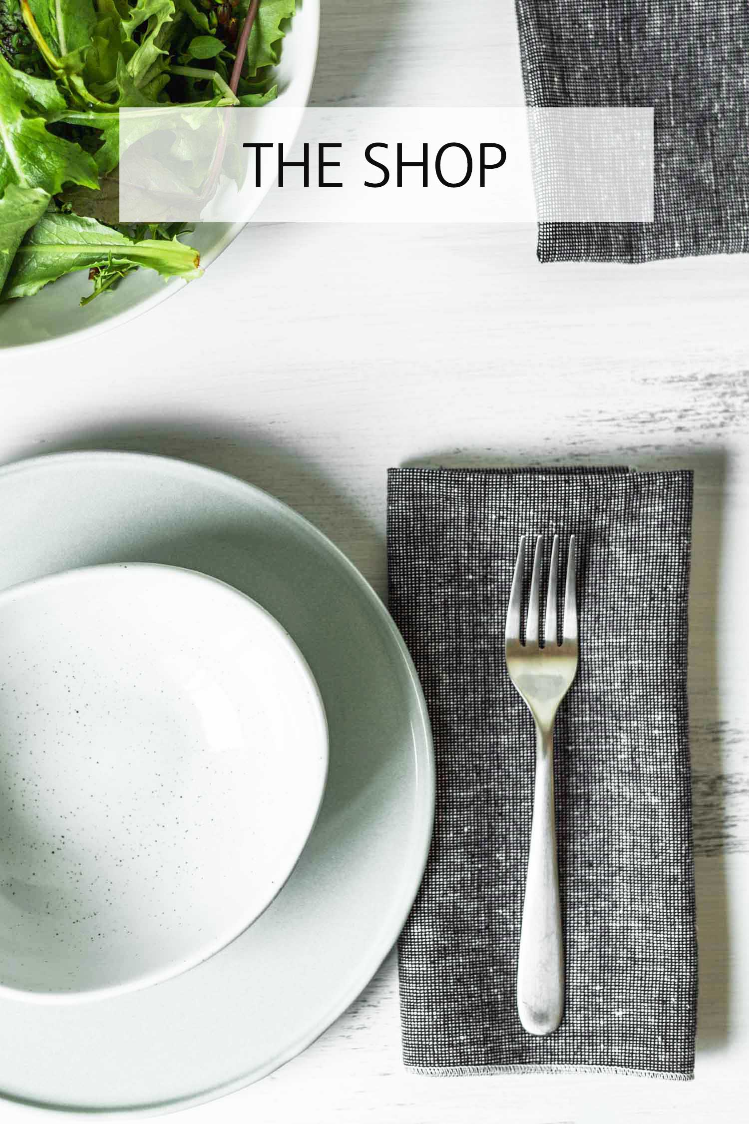 The Beautiful Ingredient Shop, featuring organic kitchen & table linens
