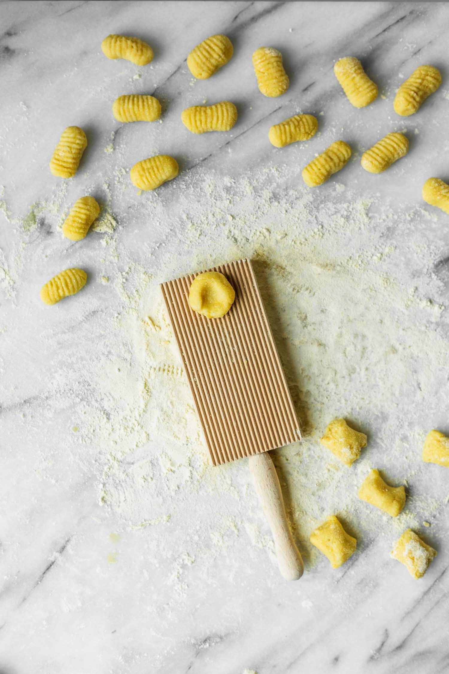 Gluten-free Dairy-free Gnocchi Recipe from  The Plantpower Way: Italia Cookbook  by Julie Piatt and Rich Roll. Photo by Kari of Beautiful Ingredient.