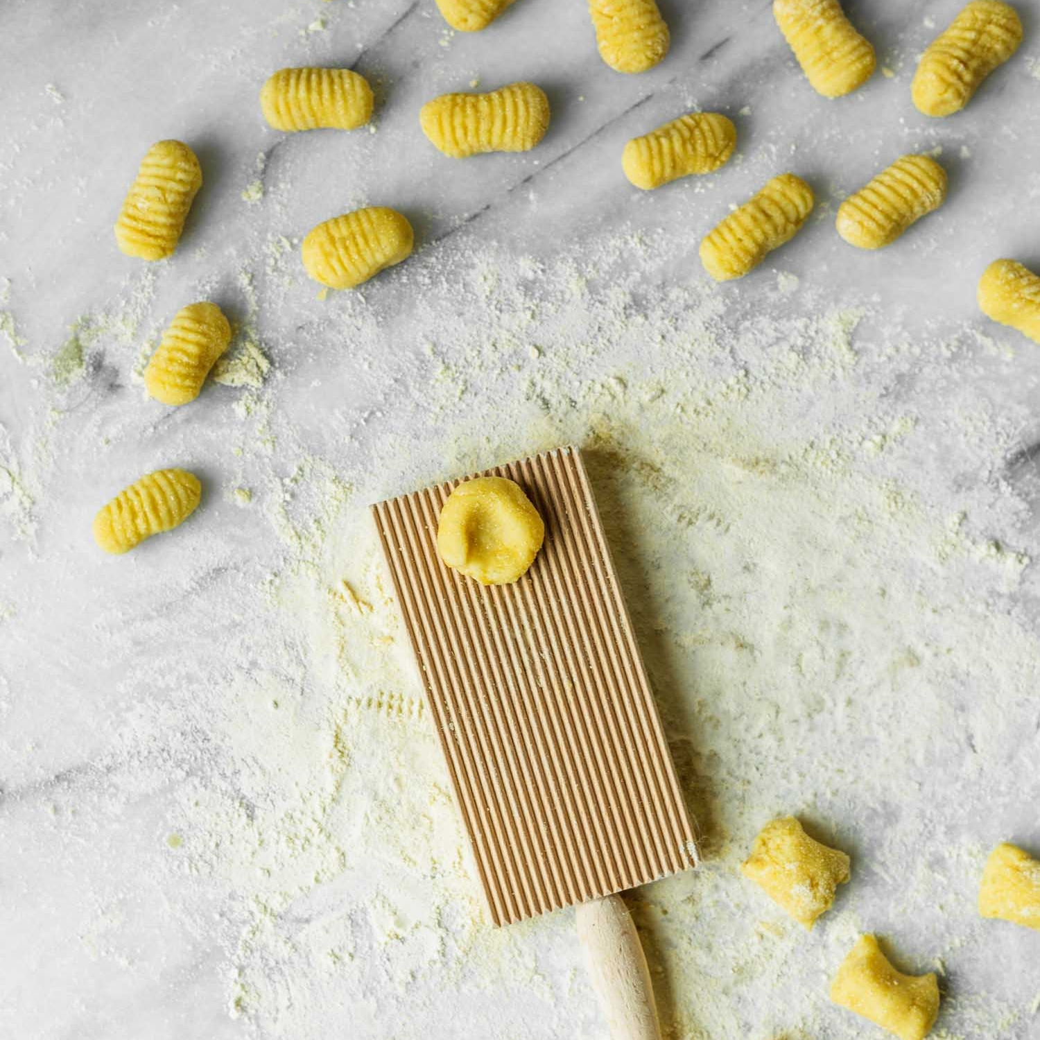Gluten-Free and Dairy-Free Gnocchi Recipe from  The Plantpower Way:  Italia Cookbook by Julie Piatt & Rich Roll