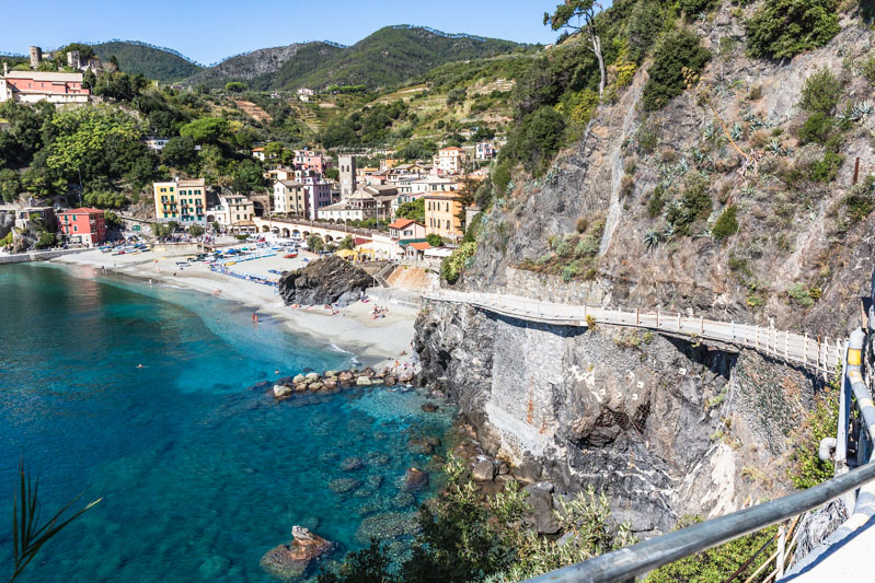 Monterosso al Mare, Cinque Terre, Italy. Photo by Kari | Beautiful Ingredient.