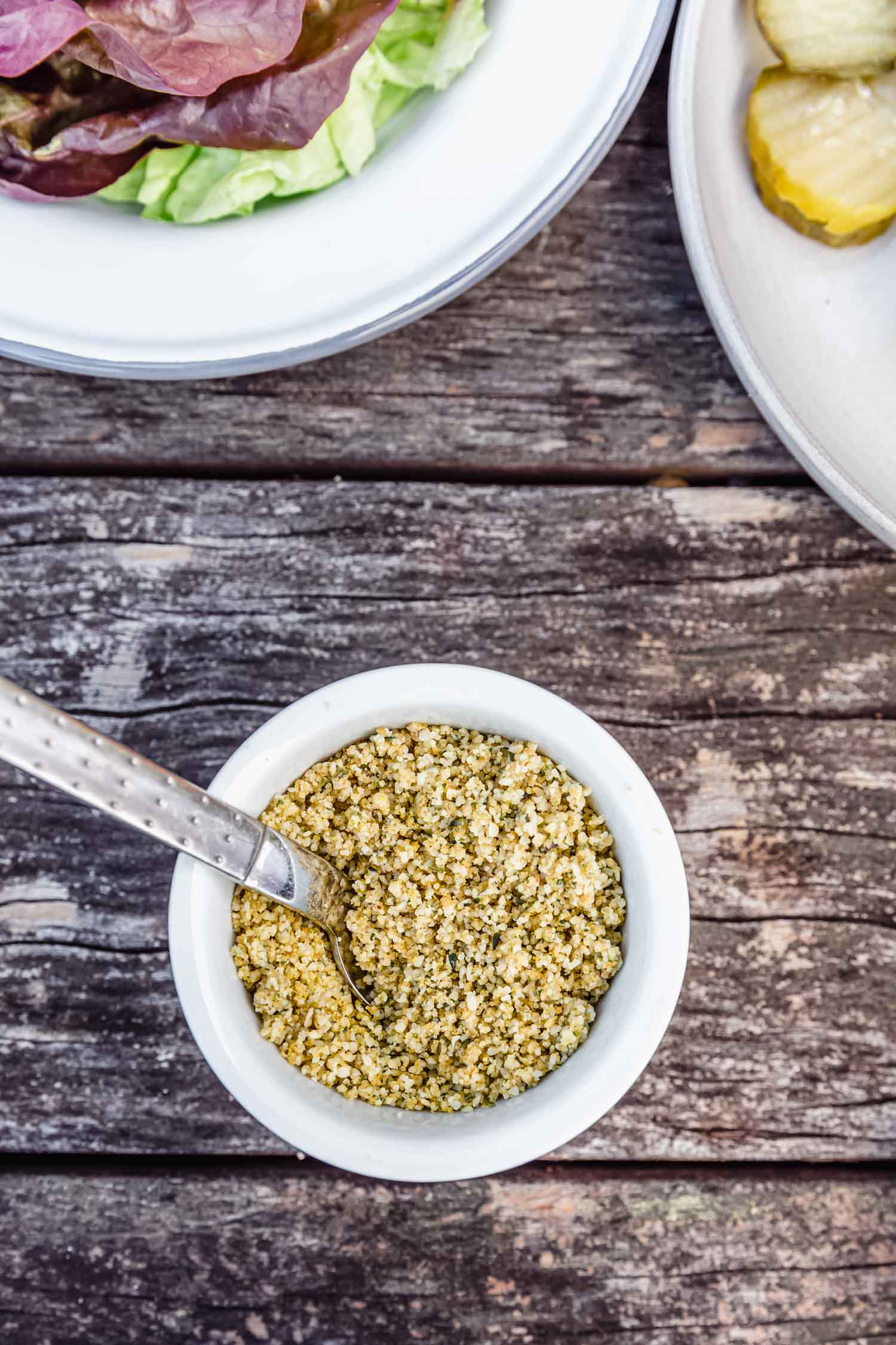 Hemp Parmesan from  Epic Vegan: Wild and Over-the-Top Plant-Based Recipes  by Dustin Harder. #cookbook #cookbookrecipe #veganrecipe #vegancheese #veganparmesan #hempseed #nutfreerecipe #vegancookbook