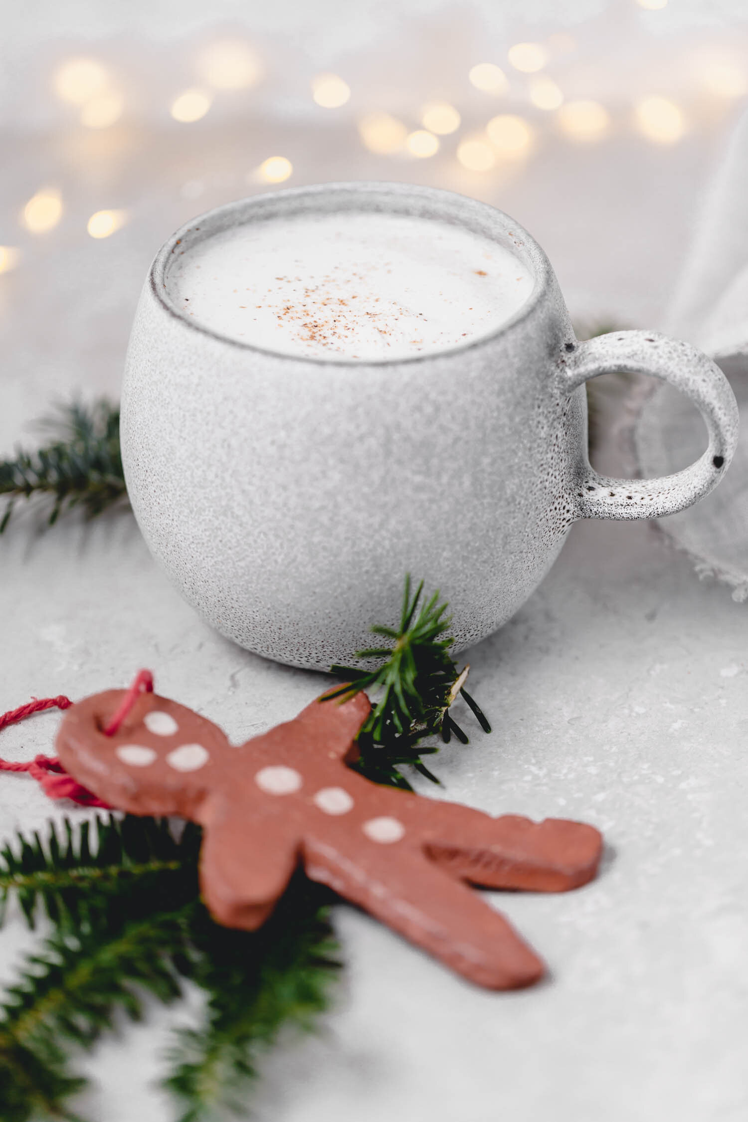 Vegan Eggnog in 10 Minutes - this recipe makes it easy to grab a cup of cheer right away!     #eggnog #vegan #veganholiday #Christmas #veganeggnog #cupofcheer #nutmeg #dairyfree #drink #bourbon #quickandeasy #10minuterecipe #hotdrink #eggfree #holidaytreat #veganchristmas #nog #dairyfreeeggnog #holidayrecipe
