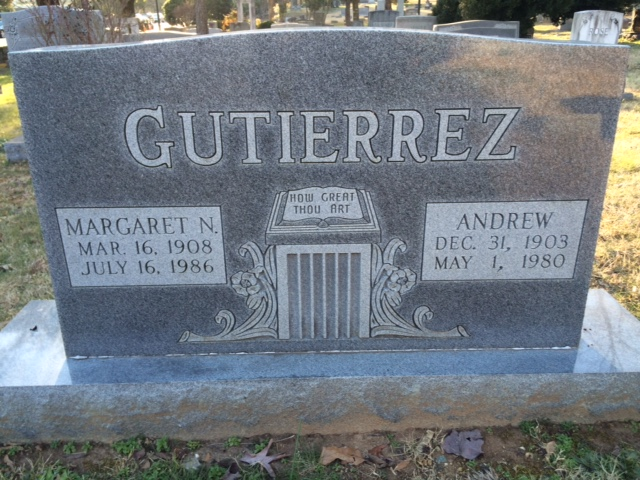 Andrew and Margaret Gutierrez, who were you?