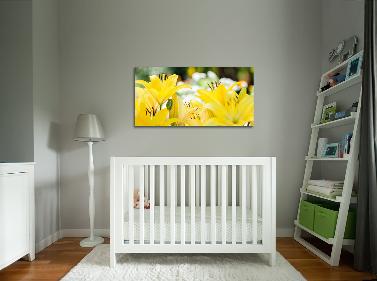 SUGGESTED PLACEMENT - bedroom or nursery