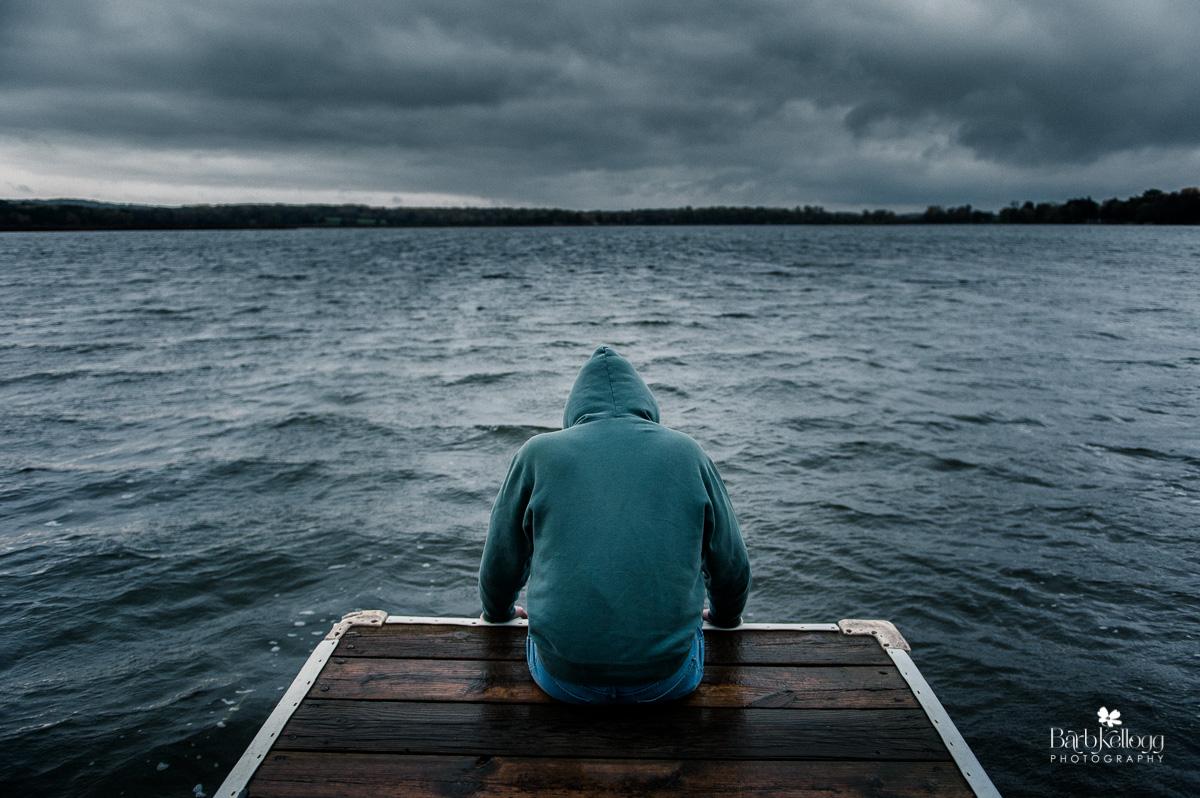 Despair, Sadness, a conceptual image by Barb Kellogg