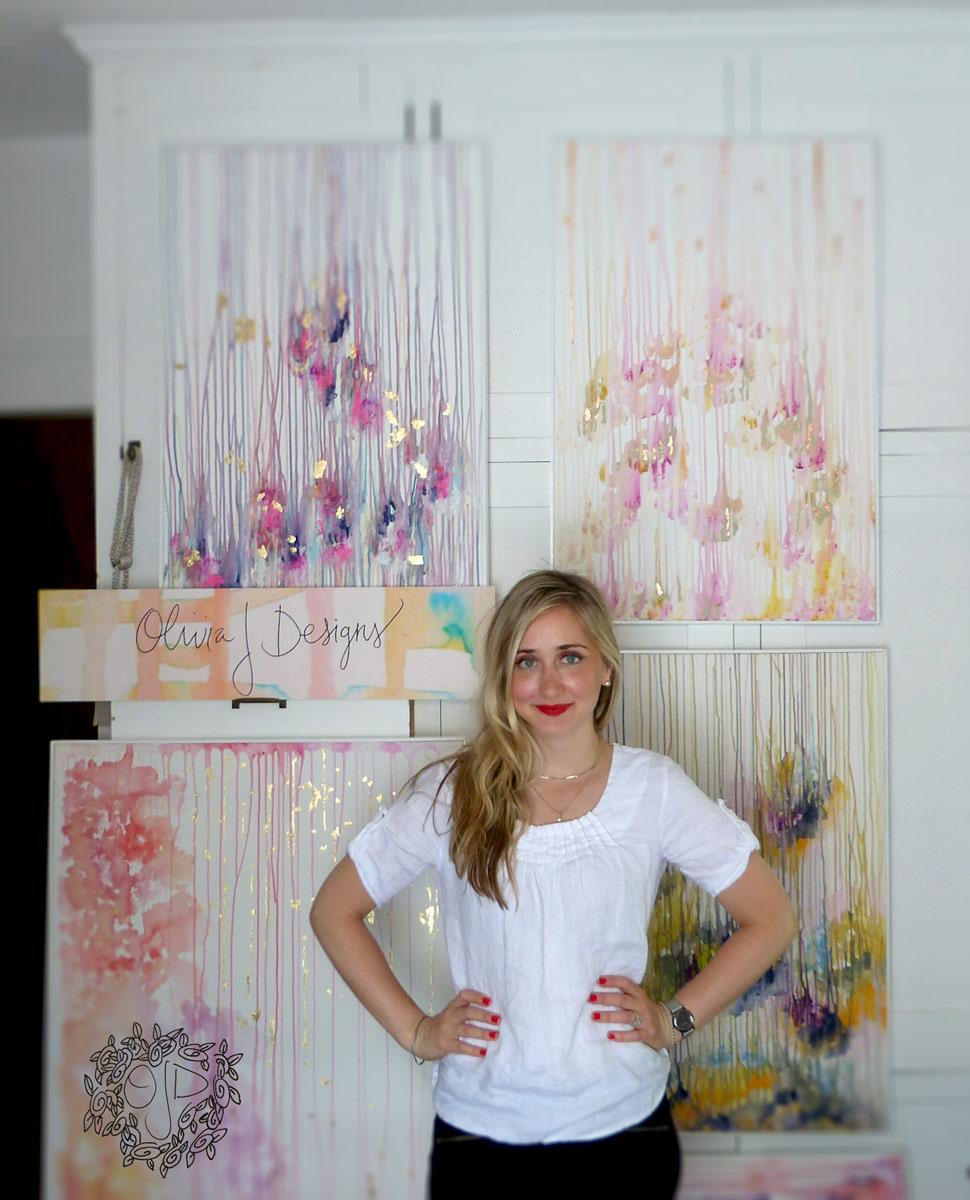 Olivia Jakel, painter