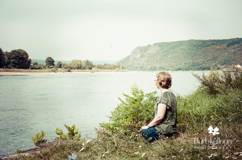 The Rhine River at Konigswinter