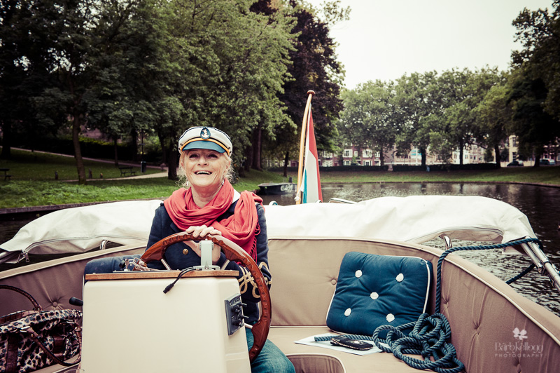Our canal guide on the river Kromme Rijn