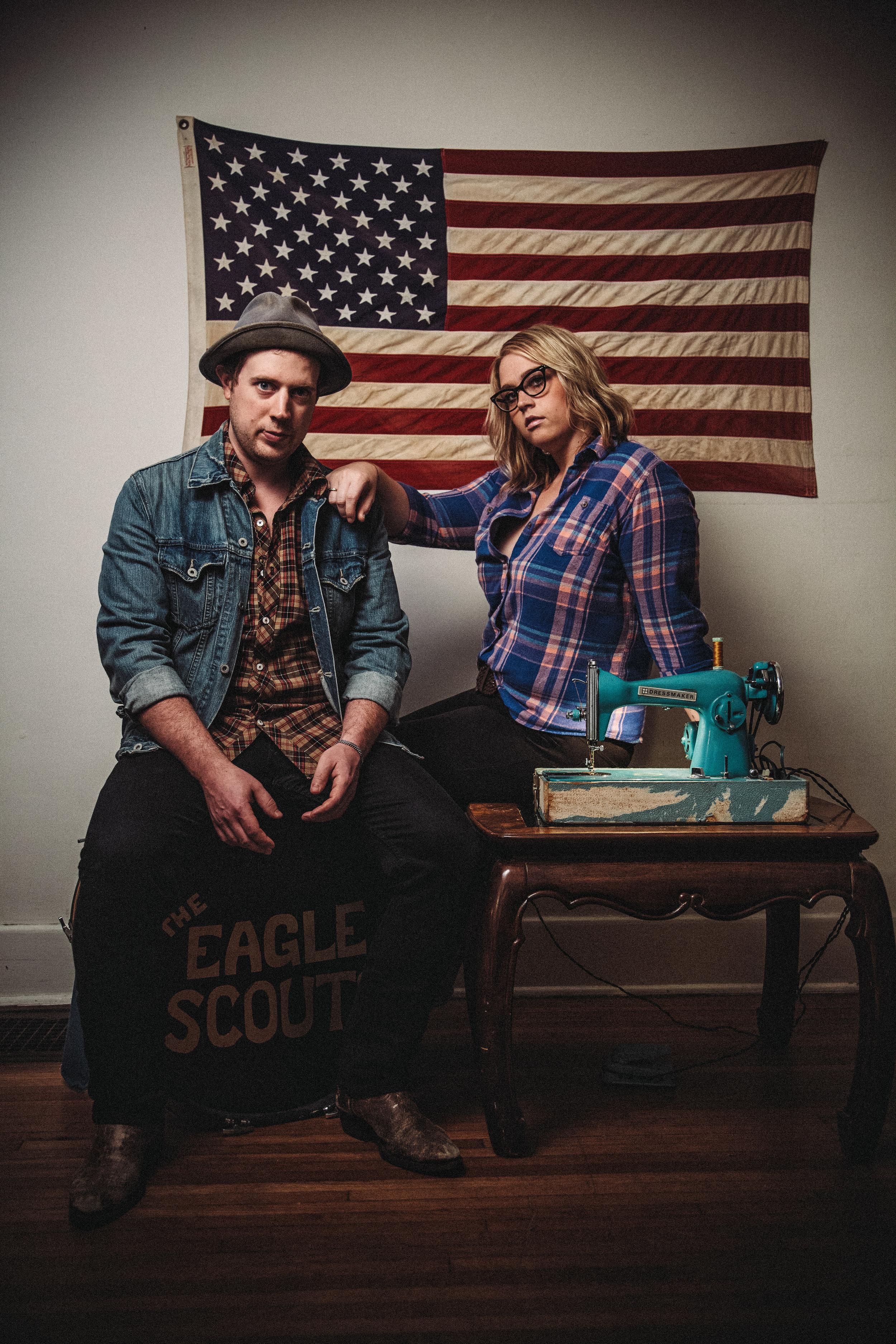 Designers Eric Davis and Sarah Mallory