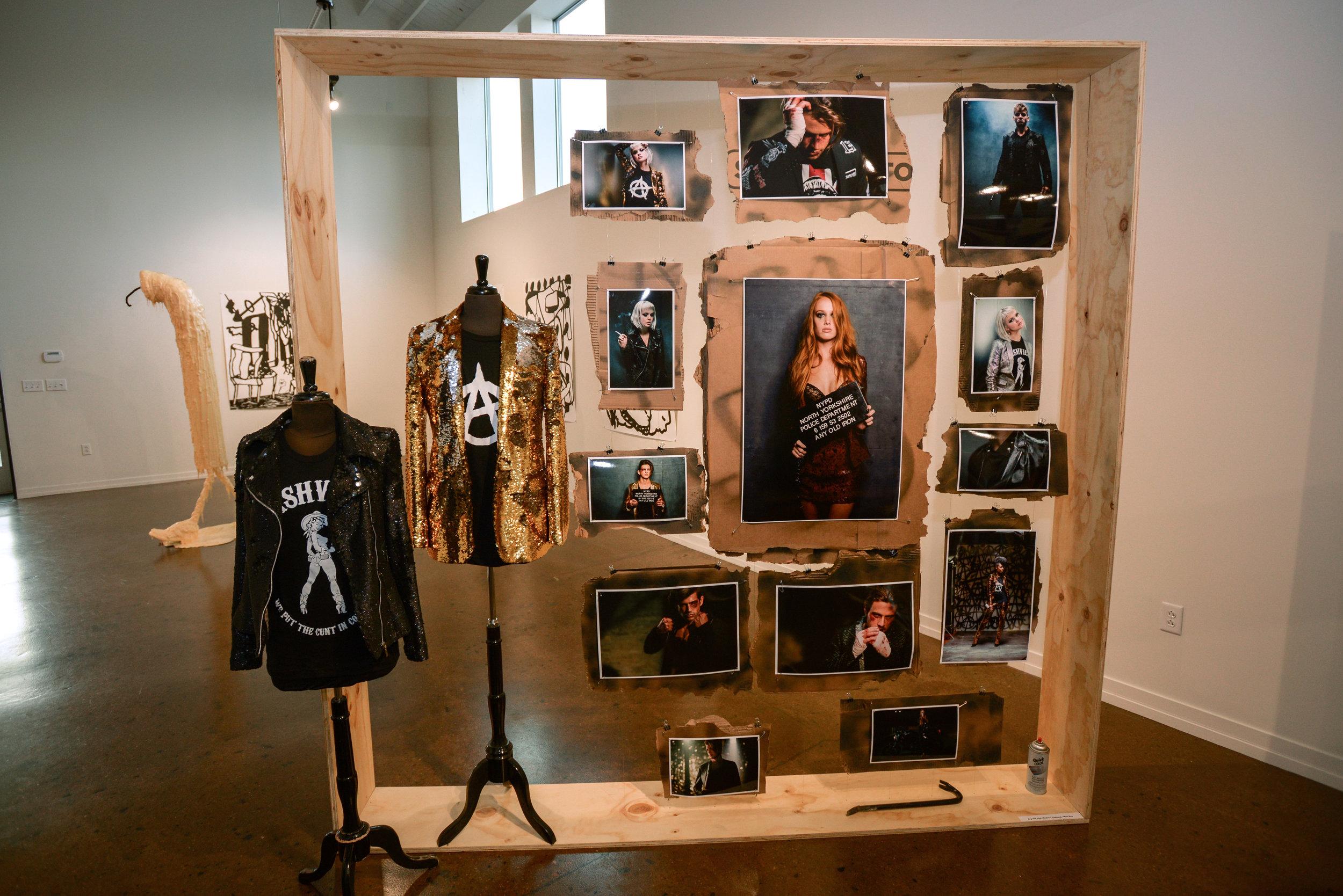 Any Old Iron display at Fashion Happening Nashville