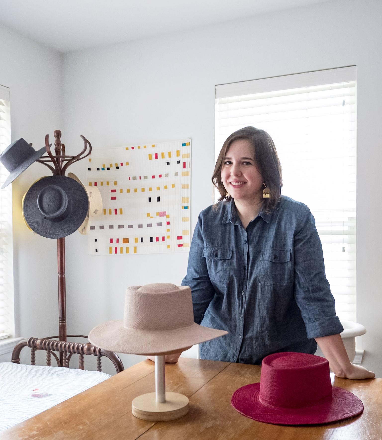 Designer Anna Zeitlin