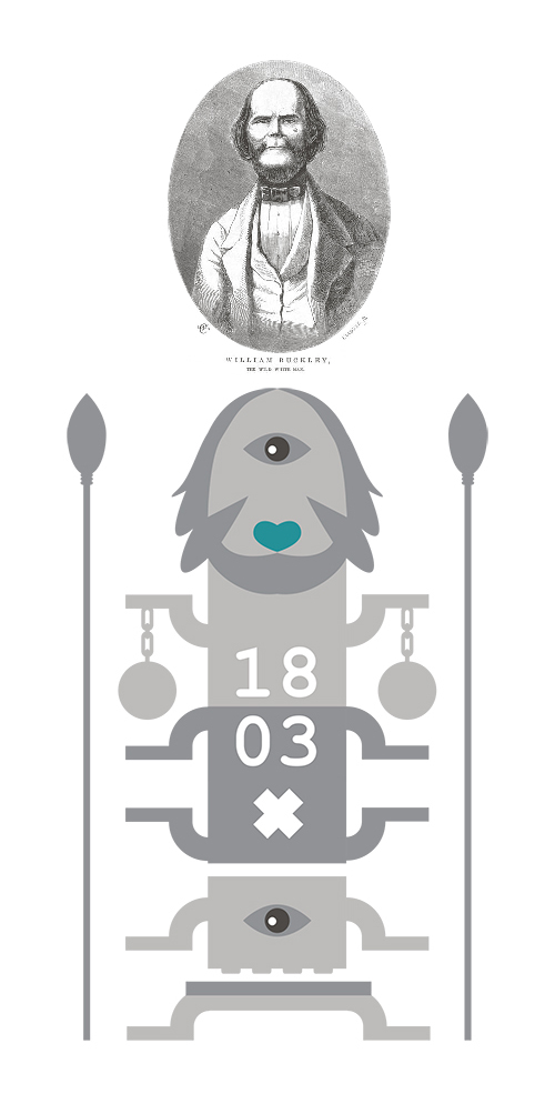 William Buckley Totem - conceptual design for Buckleys Chance Cafe Sorrento.
