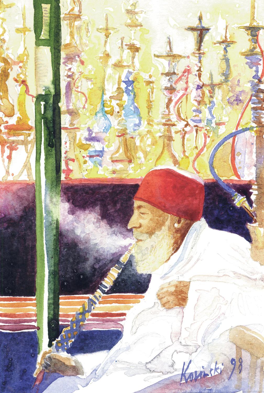 Smoker, Khan Khalili, Cairo