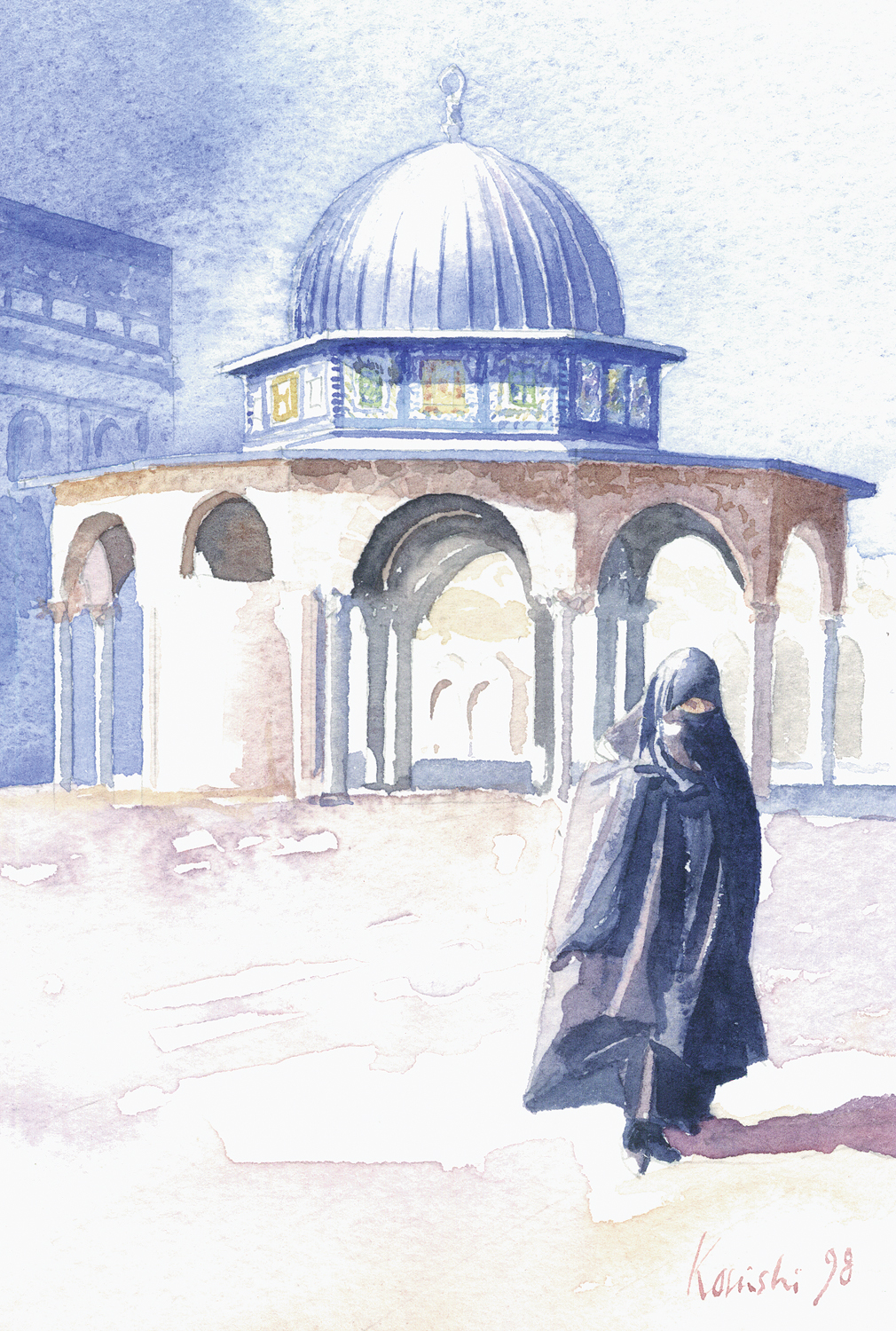 Dome of the Chains, Temple Mount, Jerusalem