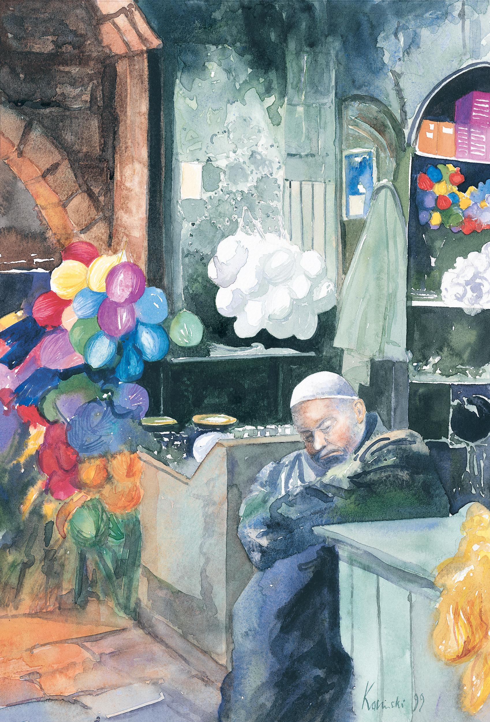 Wool Merchant, Aleppo