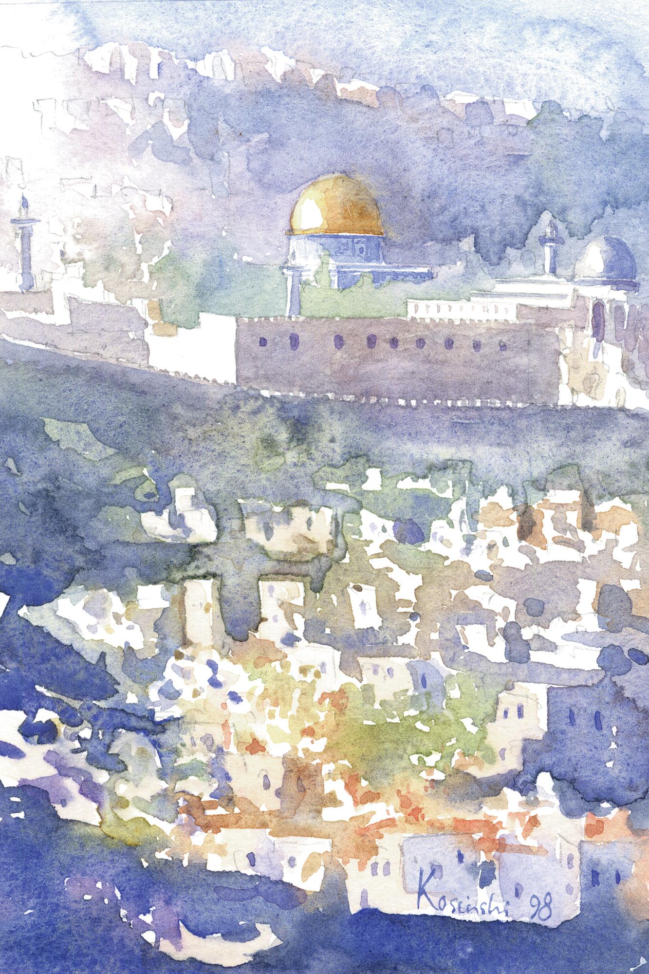 Last Light Over Jerusalem